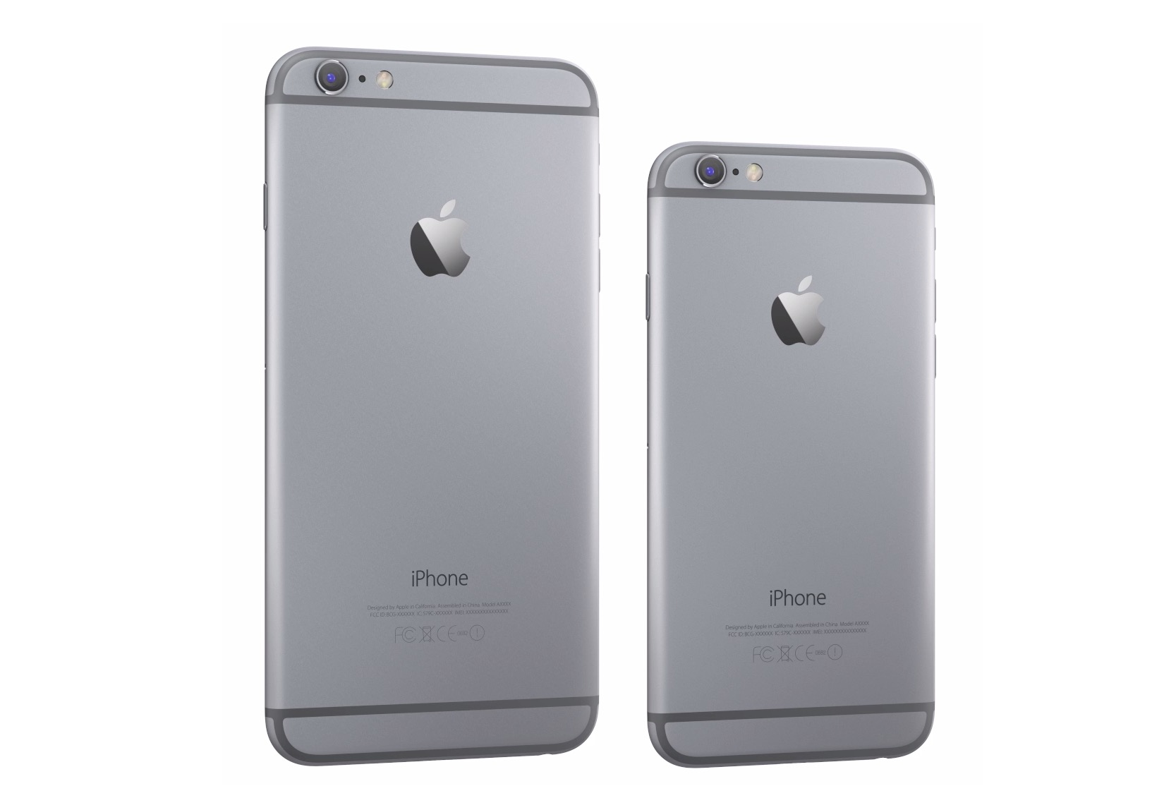 iPhone 6 and 6 Plus in Space Grey