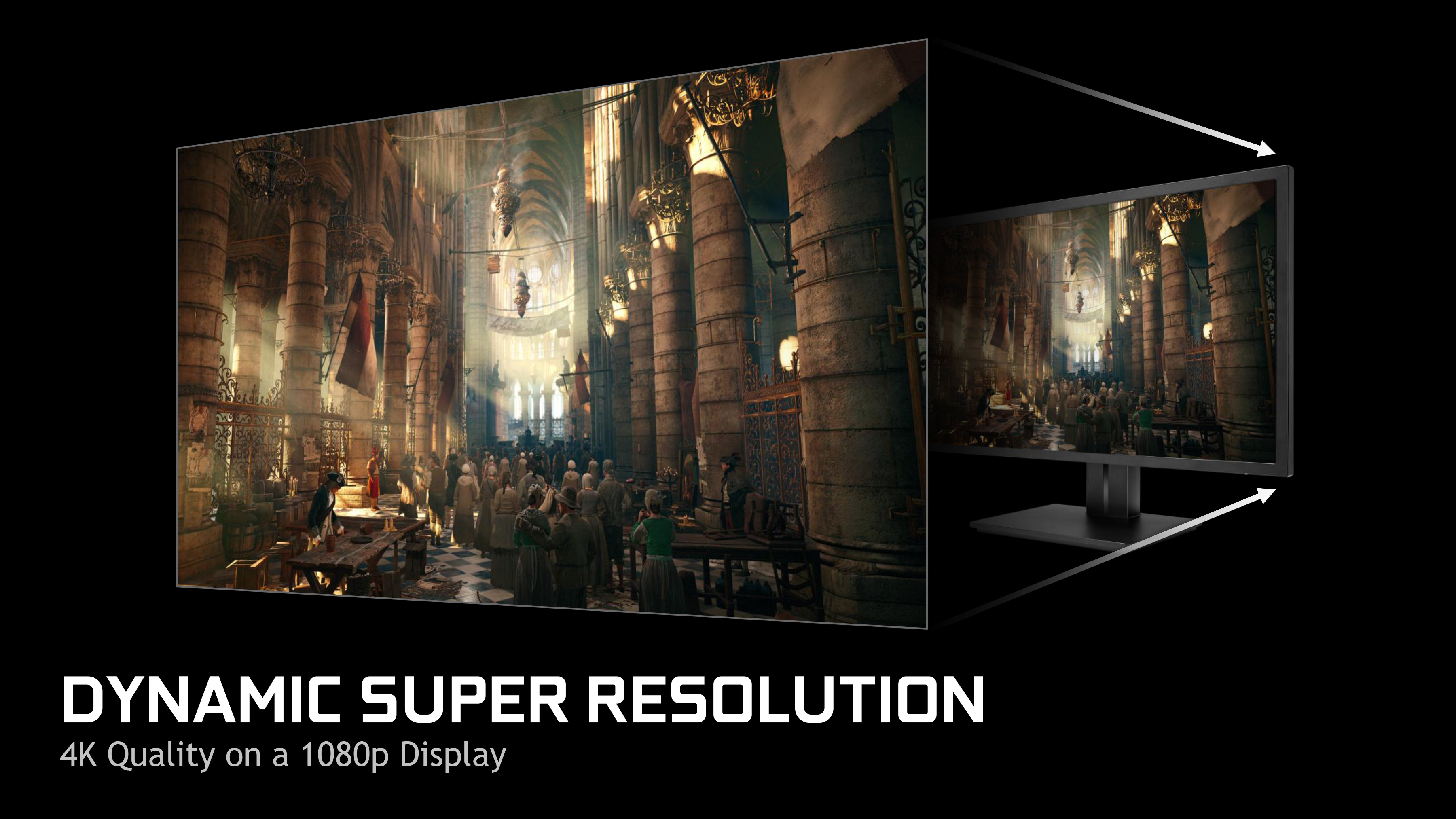 Nvidia Dynamic Super Resolution 4k