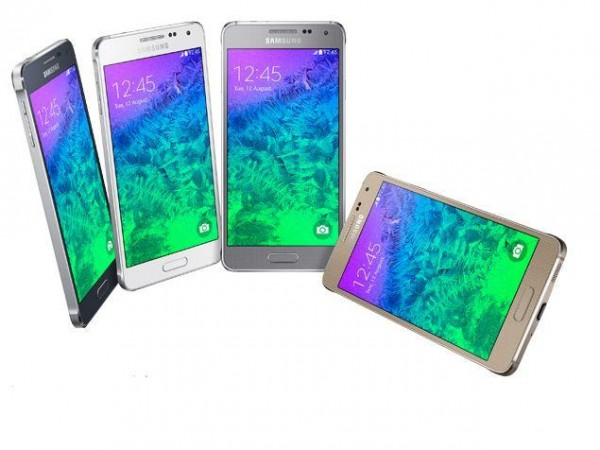 Samsung Galaxy Alpha - colours