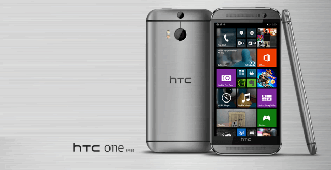 HTC Windows one M8